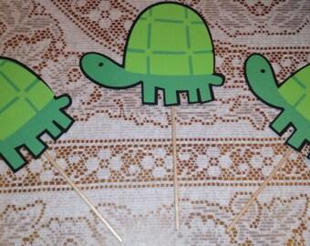 Cute Turtle Party Centerpiece