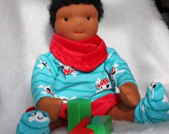 Waldorf doll, boy doll, boy rag doll, Léon, 14 inches