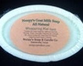 Your Choice Scented GOAT MILK SOAP Big 5 1/2 oz Bars Skin Softening w Emollient Oils Noopy's- Natural