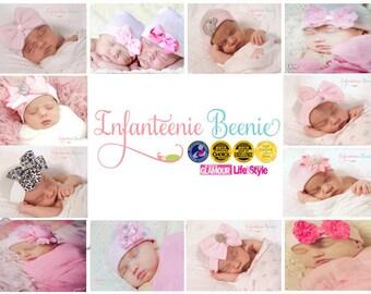 NEWBORN BOW, newborn bow hat, newborn girl, Baby girl hat, newborn girl hat, hospital newborn hat, newborn hat