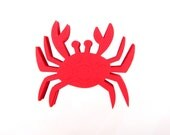 "2.5"" Crab Die Cuts set of 25"
