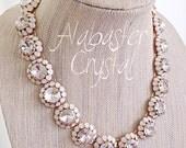 FLASH SALE!! Alabaster Crystal Necklace