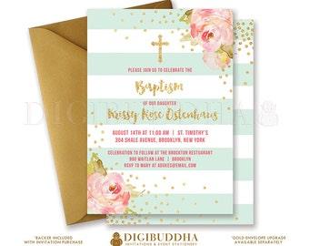 diy baptism invite  etsy, Baptism invites