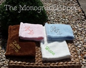 Plush Minky Lovey Security Mini Blankie for Babies, Children (Free Monogramming!)