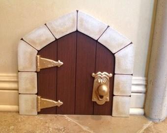 """Mini """"Alice in Wonderland Door"""" 12 3/4"""" x 11 3/4"""""""