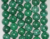 10mm Green Schiller Sheen Spar Gemstone Grade A Round Loose Beads 16 inch Full Strand (90185764-845)