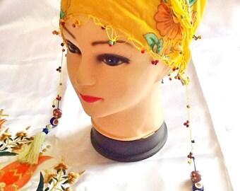 SALE--GYPSY HEADBAND -bohemian headband-ethnic headband -Turkish headband