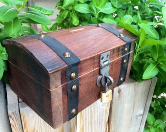Treasure Chest Jewelry Box