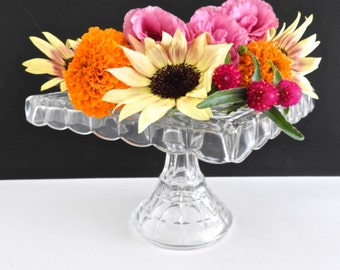 Square Glass Cake Stands