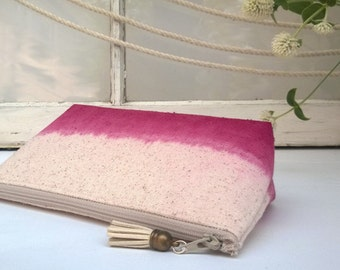 Plum Clutch Purse, Bohemian Clutch, Bridesmaid Gift Idea - Set of 9 GET ONE FREE