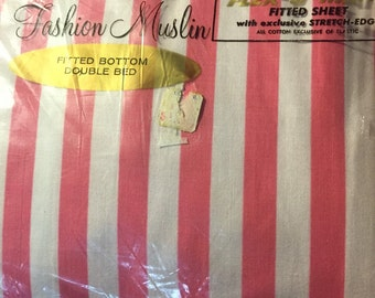 Vintage Full Fitted Sheet New In Package