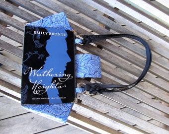BOOK PURSE - Wuthering Heights - Custom Book Purse - Made to Order