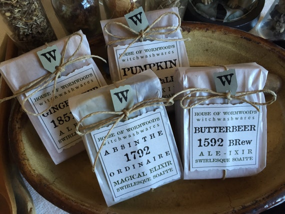 Butterbeer soap by the House of Wormwood