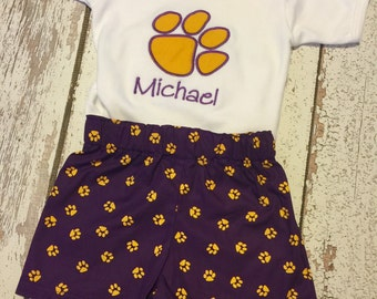 Items Similar To Any Team Chevron Gameday Dress In Lsu