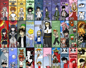 Bookmarks! Anime, Video Games, & more!