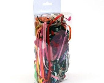 1/4th Inch Flat Elastic - Elastic Headbands - Flower Girl Headband - Headband Supplies - Baby Headbands - Sample Pack