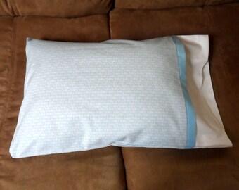 Baby Boy Travel Size Pillowcase