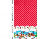 Holly Jolly Gnomes - Holly Jolly Gnomes in Red (CX6701-REDX-D) - 1/2 yard