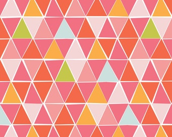 Juicy - Mosaic - Organic Cotton - Monaluna Fabrics (JU-02-BLT) - 1/2 Yard