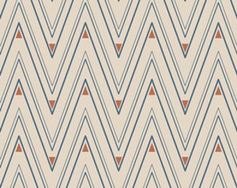 Artisan - Collar Ends in Copper - Pat Bravo for Art Gallery Fabrics - ART-43108 - 1/2 Yard