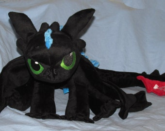 Dragon of the Night Large Plush Toy