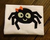 Applique Spider embroidery file