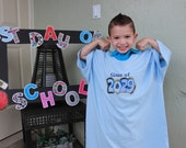 Keepsake Light BLUE with STAR Wars CLASS of 2029 Shirt -- Do You need a different Year?? up to 64 color shirts to choose from