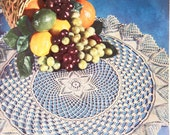 1956 Priscilla Doilies to Crochet Pattern Book No. 324 includes 15 pages of crochet patterns