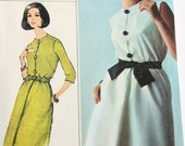 Simplicity 6294 UNCUT Sewing Pattern Dress with Blouson Bodice and Sleeve Options Size 16 Bust 36