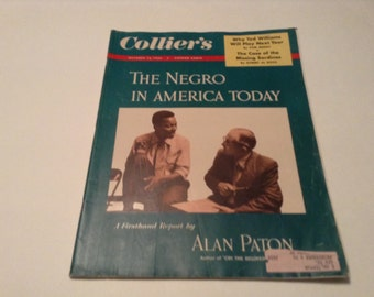 october 15 1954 collier's magazine the negro in america today