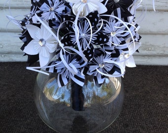 Bridal bouquet - paper flowers