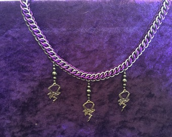 Handmade Fairy Dance chainmaille necklace