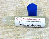 Lavender and Chamomile Natural Sleep Aid, Roll-On Aromatherapy, Aromatherapy for Sleep