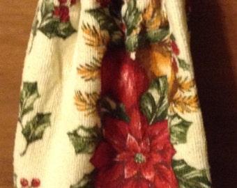 Christmas Crochet Kitchen Hand Towel