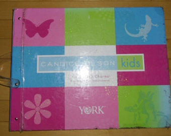 Designer Wallpaper Sample Book - Candice Olson Kids, High End Wallpaper, Crown Wallpaper, Wall Quilt Paper, Scrapbooking, Art, Decoupage