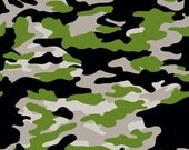 Military Camo Gray - Military Max - Bella Blvd - Stephanie Hunt - Riley Blake Designs - 1 Yard