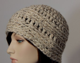 Crochet PATTERN PDF, The Brynn Beanie, Winter Hats, Ladies Crochet Hat Pattern, Ski Hat Crochet Pattern, MarlowsGiftCottage, Womens Crochet