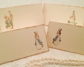 Peter Rabbit Place Cards -Baby Shower, Wedding, Birthday Place cards-Food Labels-Gift tags-Set of 12
