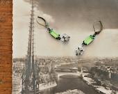 vintage style drop dangle earrings