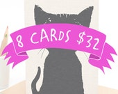 Bulk Discount: 8 Cards for 32 AUS Dollars