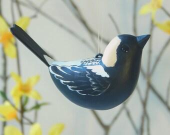 Bobolink Bird ornament handmade decoration