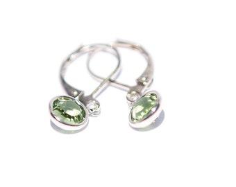 Zodiac Jewelry, Leo Zodiac Gifts for Leo, Peridot Earrings, August Birthday, Leo Gift Women, August Birthstone Jewelry, Leo Star Sign Gift