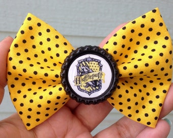 Harry Potter Hufflepuff bow