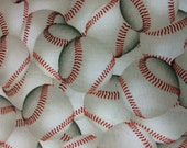 Baseball Fabric - 1 YARD