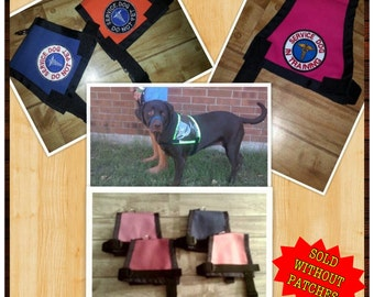 Service Dog Therapy Working Adopt Me Standard Cape Style Dog Vest