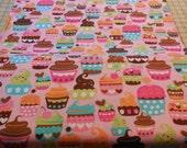 Pink Sweet Treats - Michael Miller Fabric 1 Yard