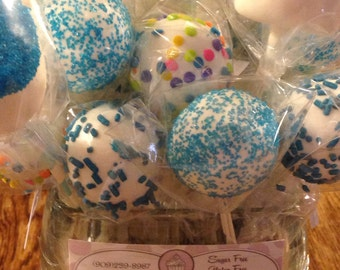 Birthday Cake Pops & All Occasions 24 cake pops