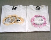 SALE - Ring Bearer and Flower Girl Personalized Wedding Duties T-Shirts : 2 Shirts For 25 Dollars