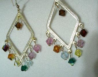No (104) Chandilier Chakra Earrings
