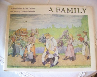 Carl Larsson -A Family - book